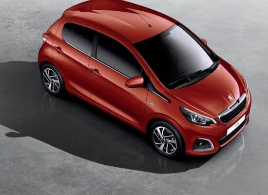 Peugeot 108 5 Puertas Top Disauto Valladolid Concesionario